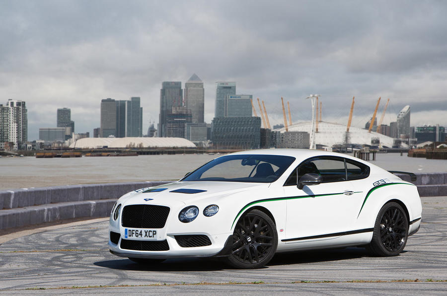 4 star Bentley Continental GT3-R