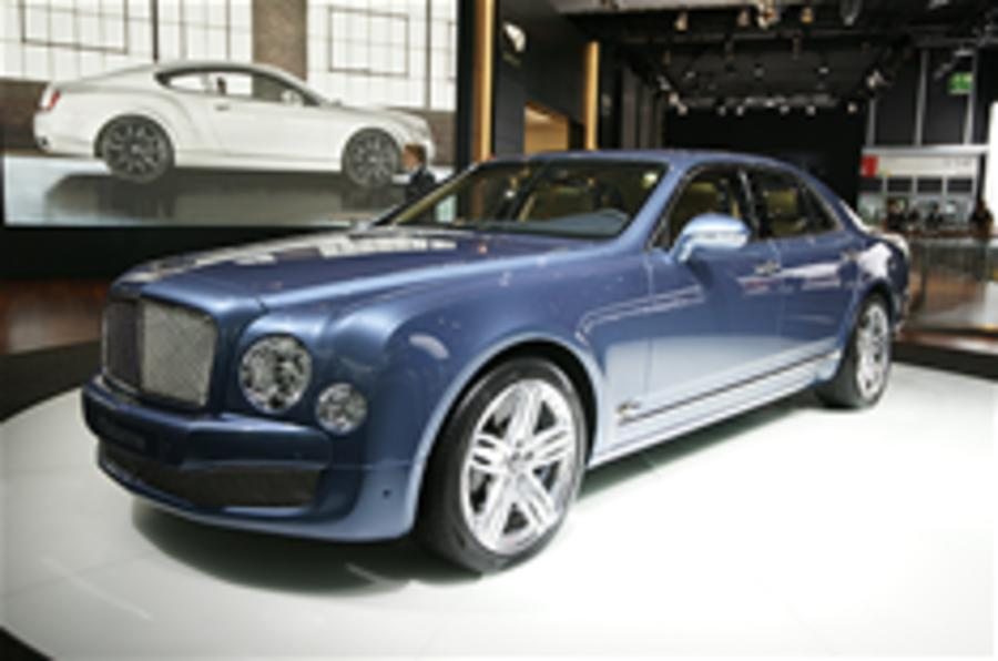 Bentley Mulsanne from £220k