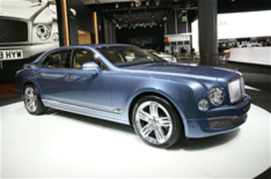 Bentley Mulsanne: high-res pics