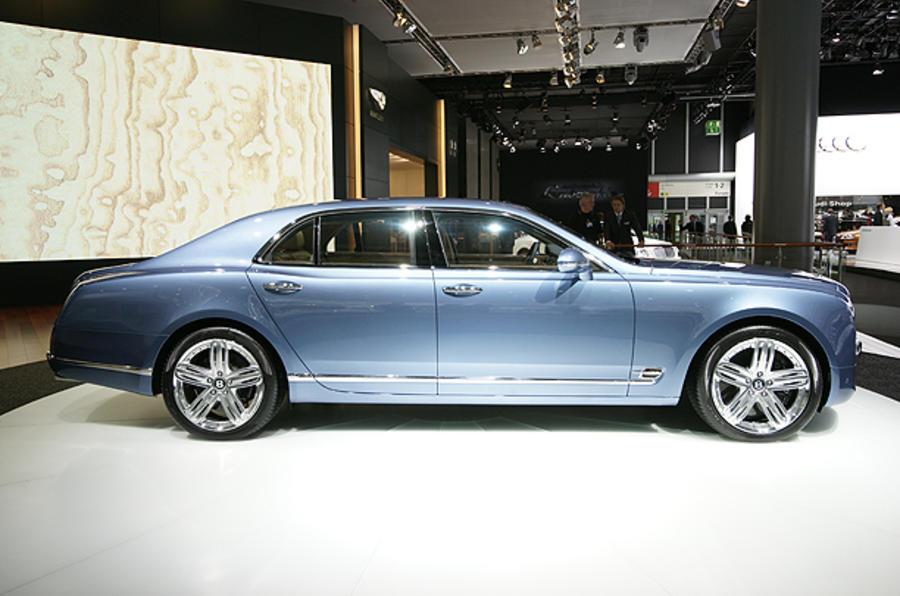 Bentley Mulsanne: full tech details