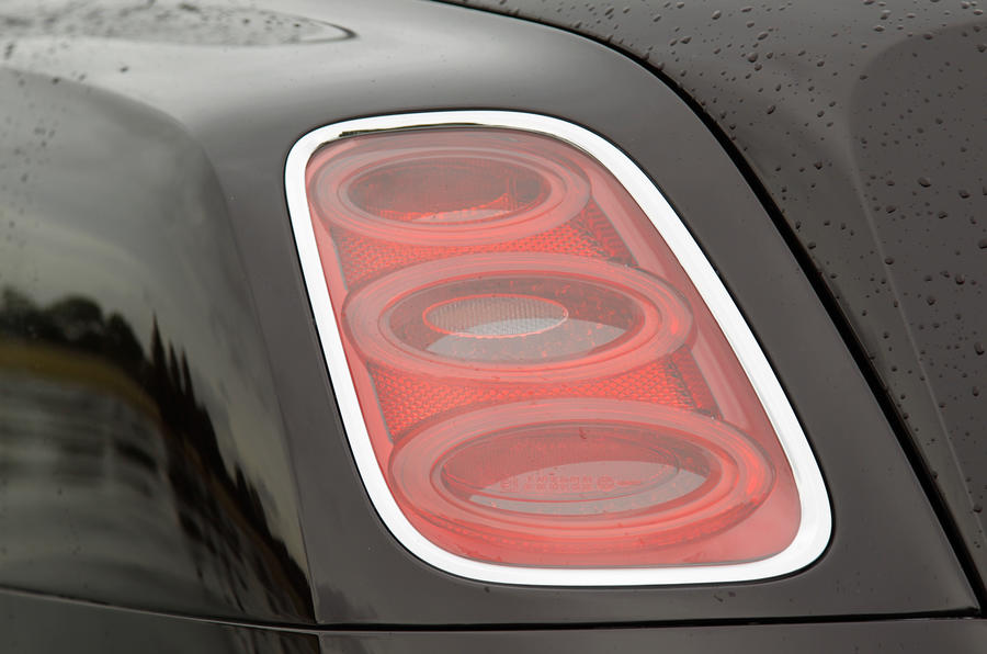 Bentley Mulsanne rear lights
