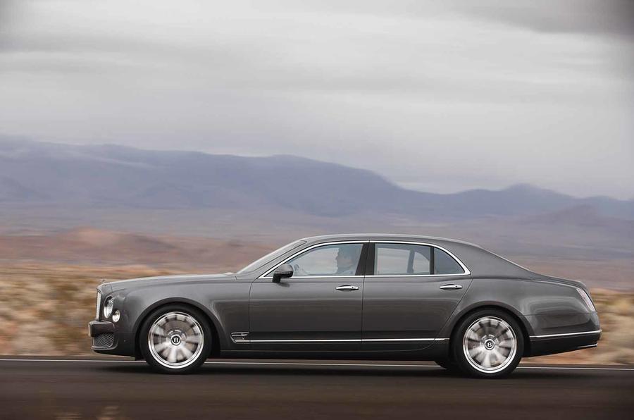 Geneva: Bentley Mulsanne Mulliner