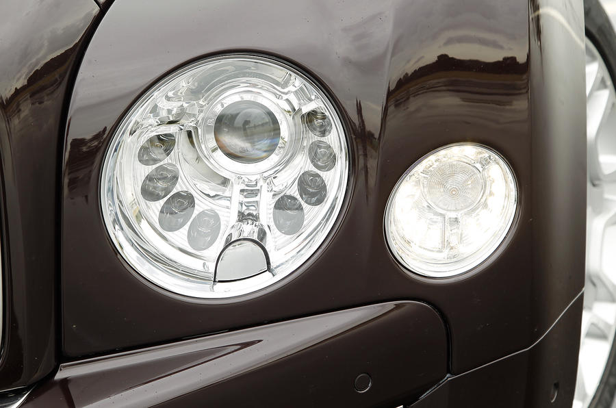 Bentley Mulsanne headlights