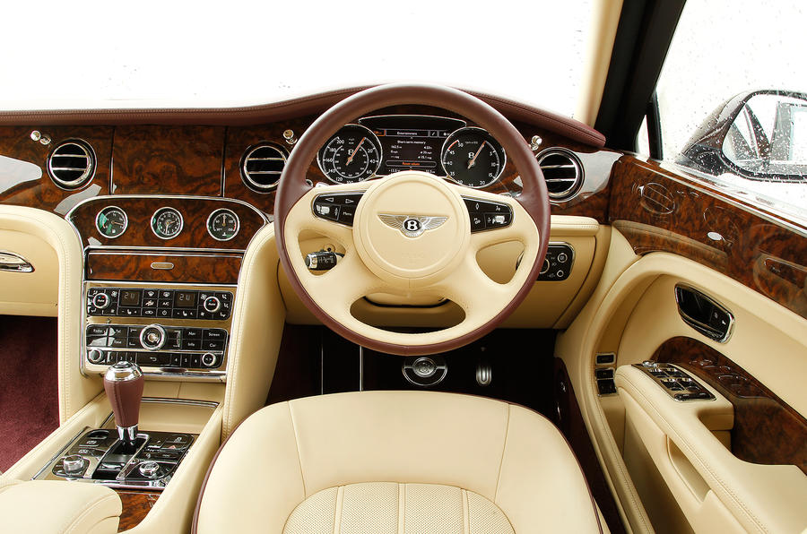 Bentley Mulsanne driver's seat