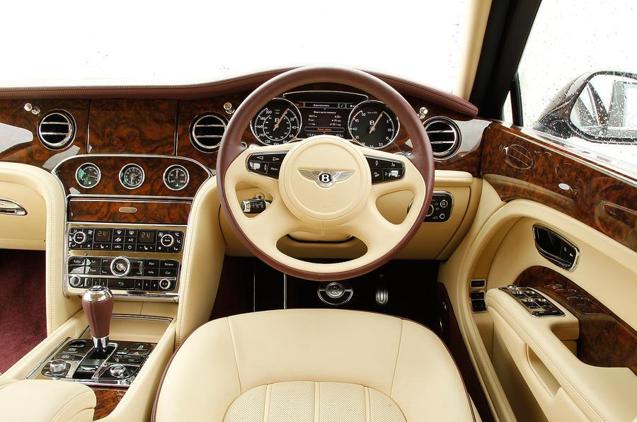 Bentley Mulsanne driver's seat