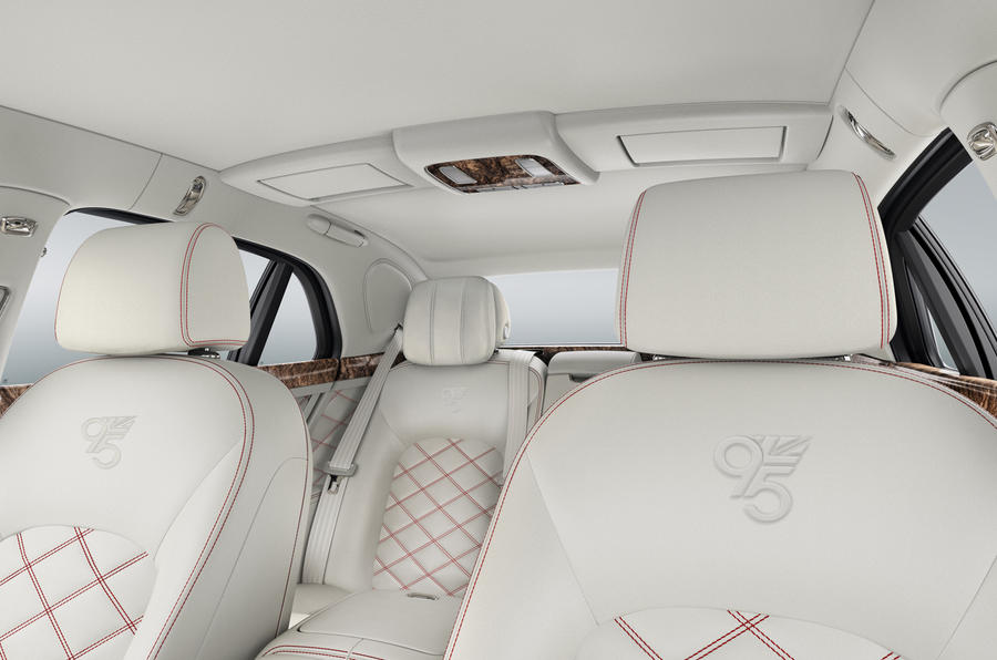 Limited-edition Bentley Mulsanne 95 revealed