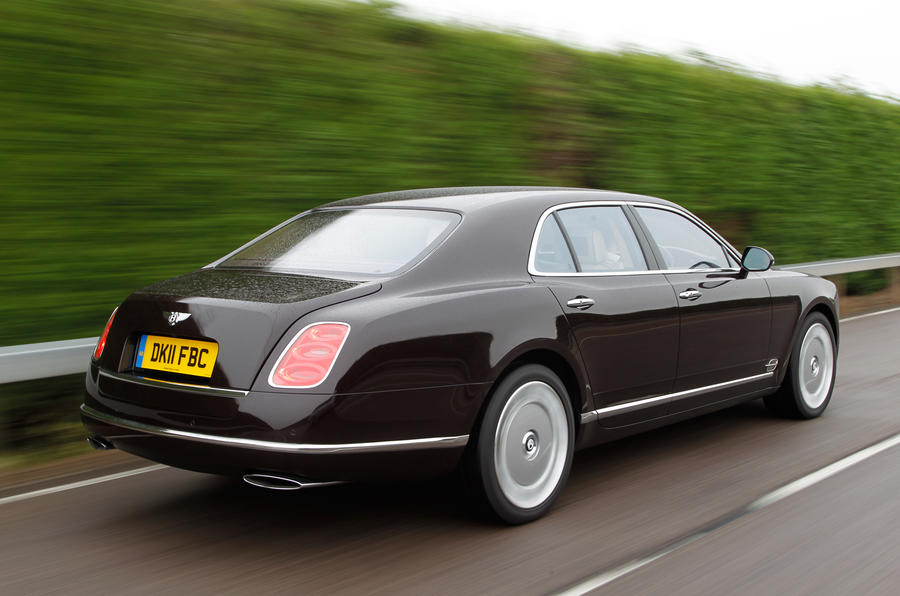 Three-tonne Bentley Mulsanne