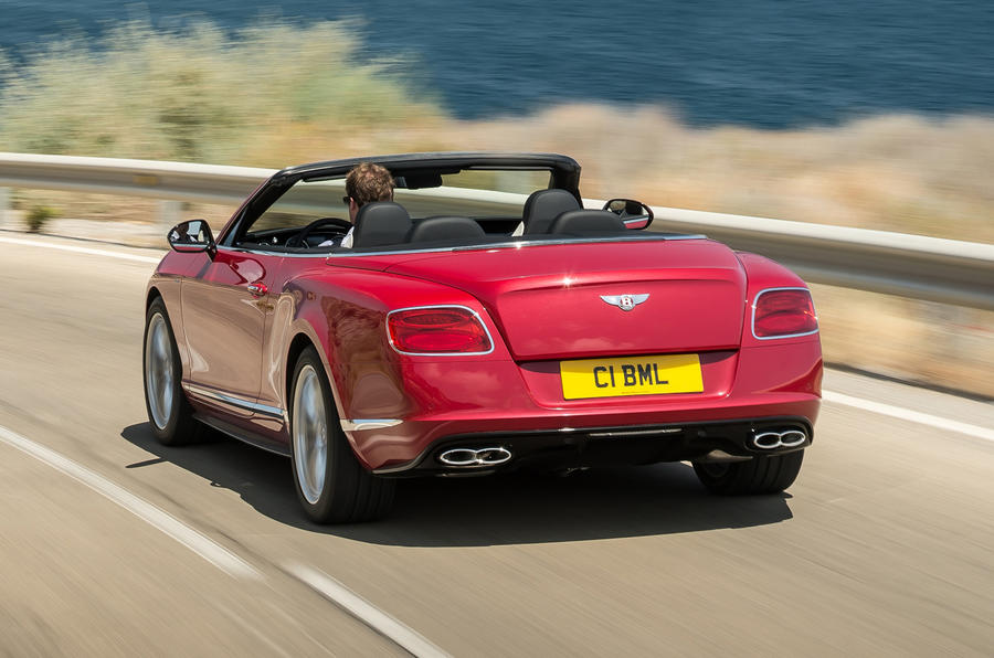 More power for Bentley Continental V8