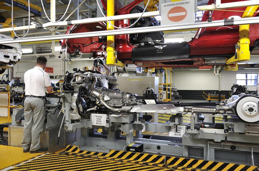 bentley s w12 engine tech secrets revealed autocar bentley s w12 engine tech secrets