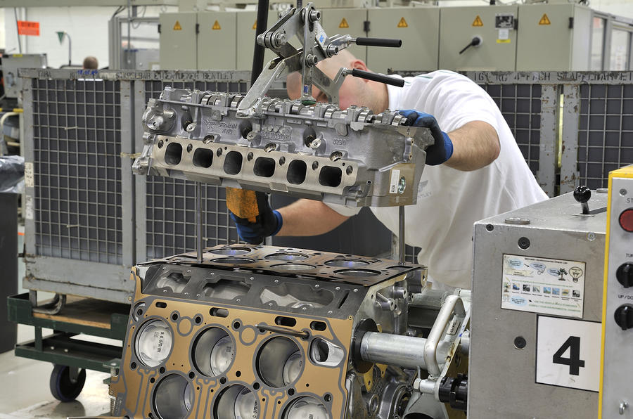 Bentley's W12 engine tech secrets