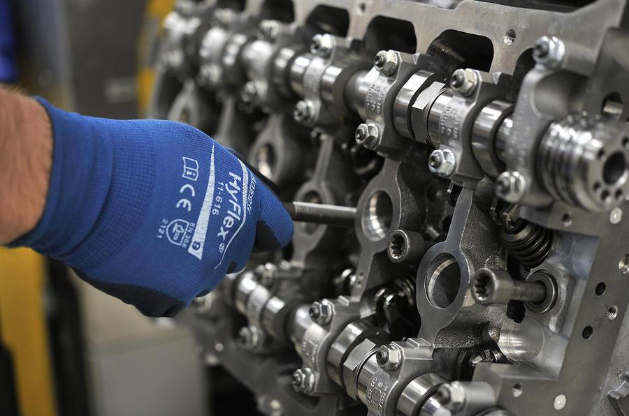 Bentley s    W12       engine    tech secrets revealed   Autocar