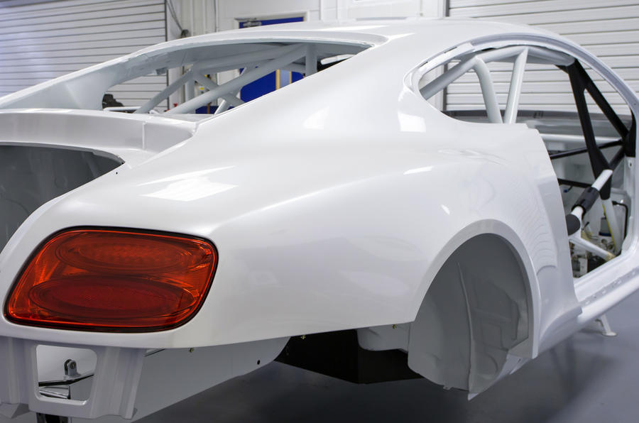 Bentley Continental GT3 nears race readiness