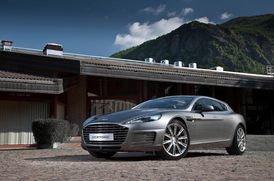 The prototype Aston Martin Rapide
