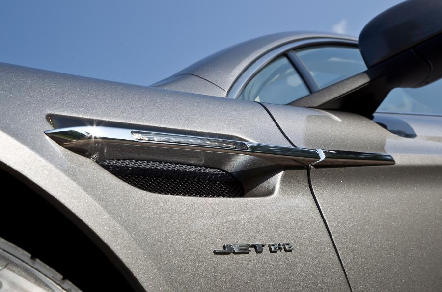 Aston Martin Rapide's louvres