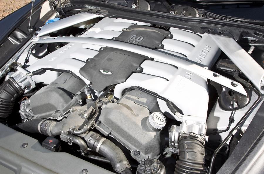 The 470bhp V12 Rapide Shooting Brake engine