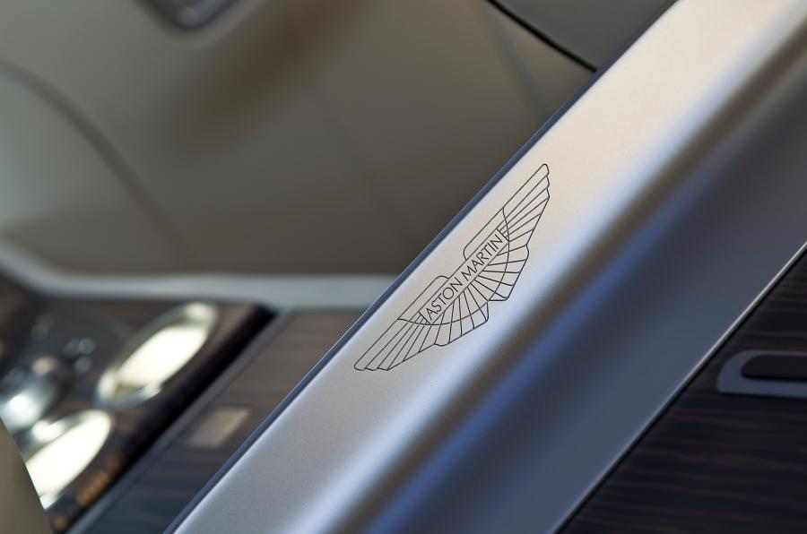 Kickplate on the Aston Martin Rapide Shooting Brake