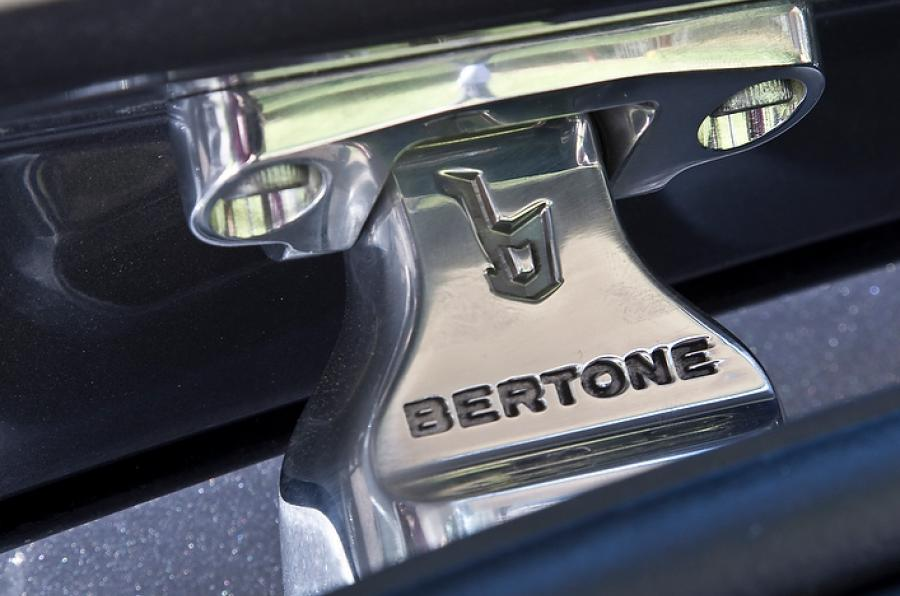Bertone styling pointers on the Rapide Shooting Brake