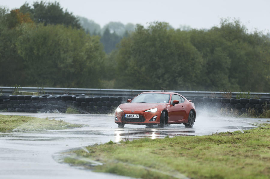 Comparison: What's the best car in the wet?