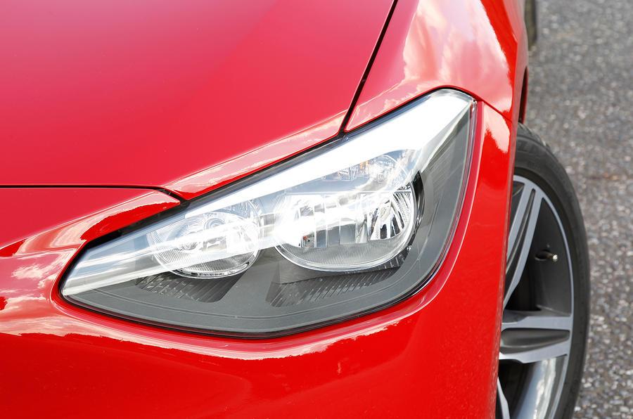 BMW 1 Series headlights