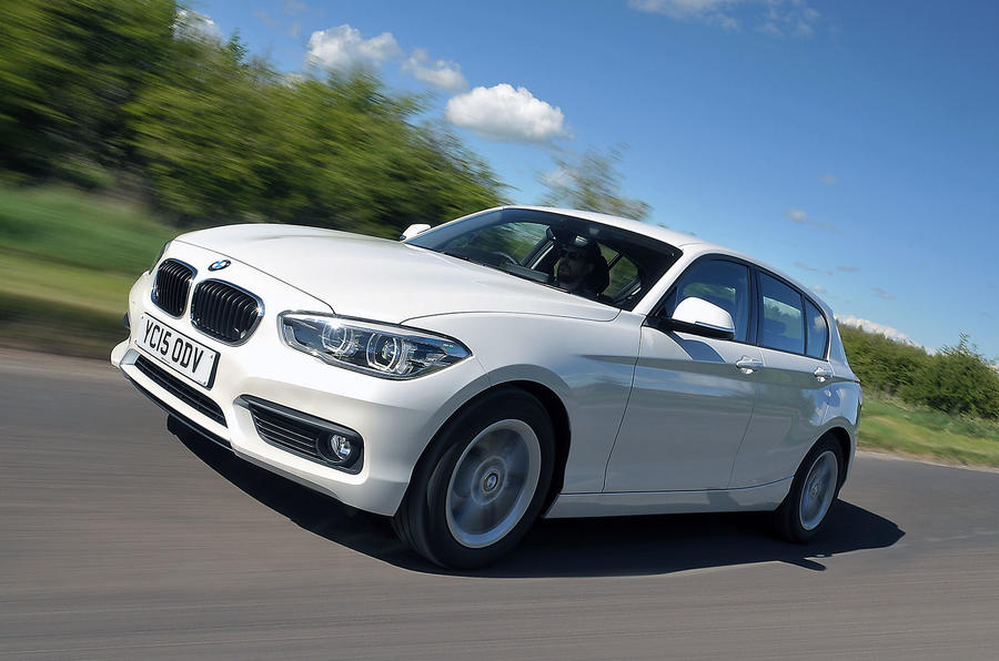 BMW 1 Series review hero front