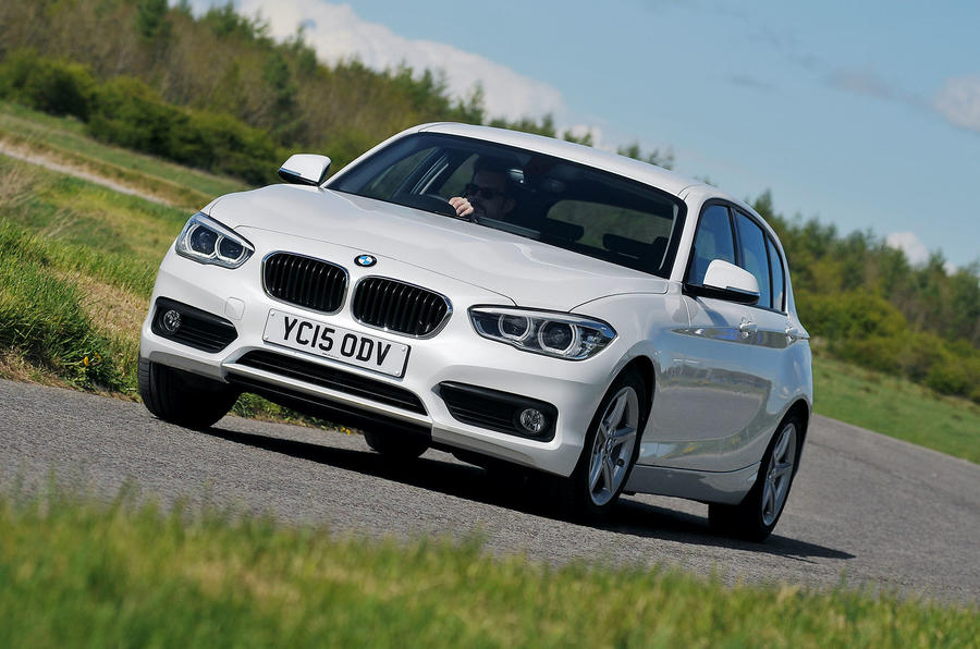BMW 1 Series turbodiesel cornering