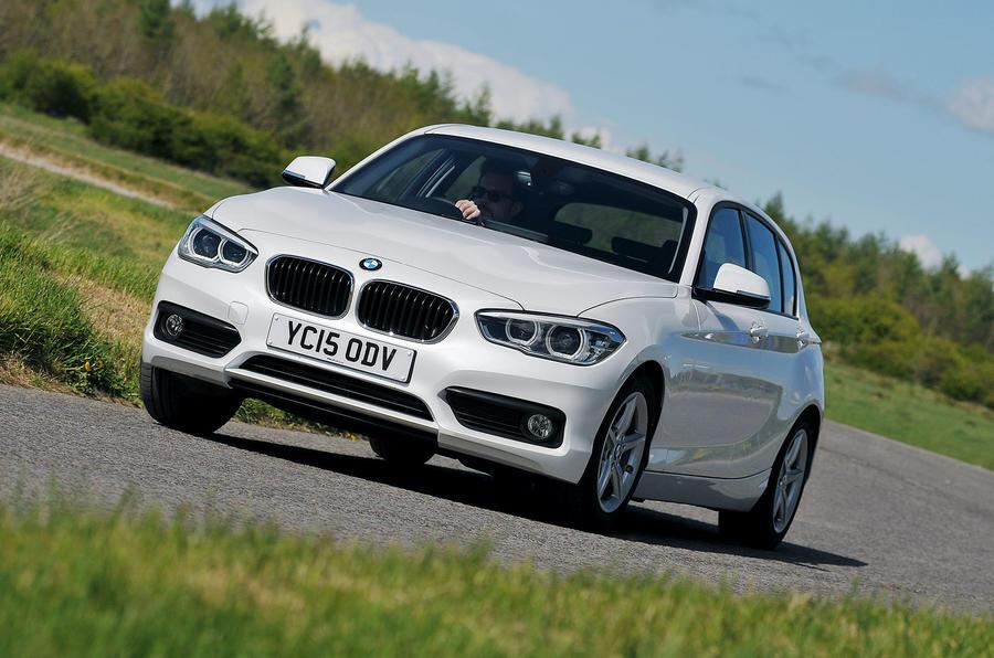 BMW 1 Series turbodiesel cornering