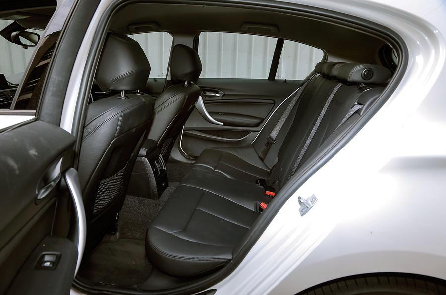 BMW 1 Series rear seats