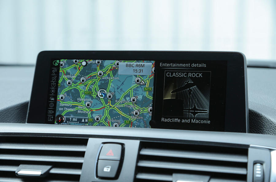 BMW 1 Series iDrive infotainment