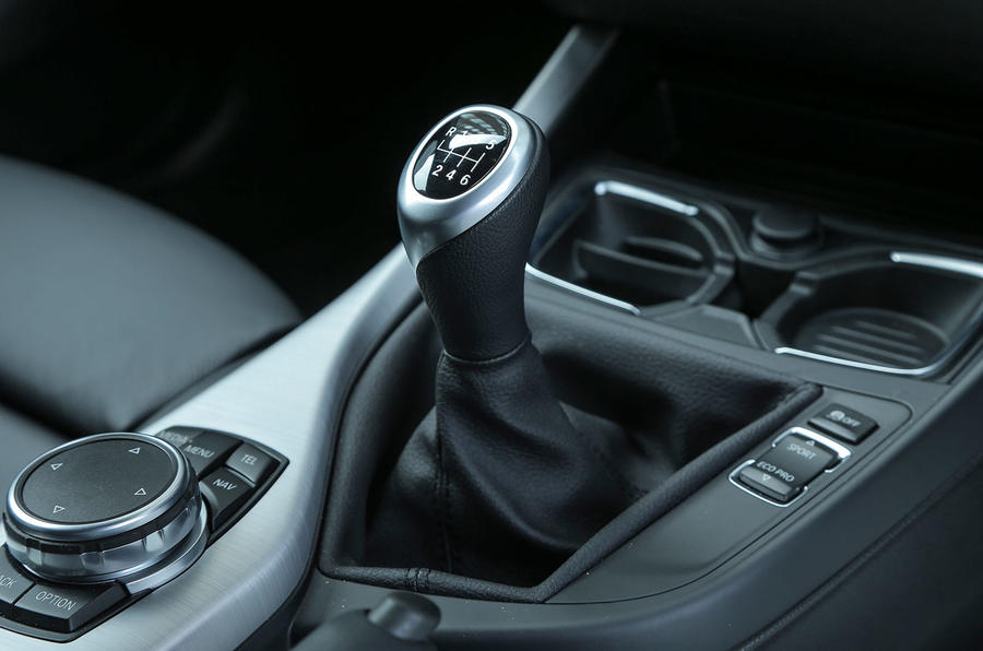 1 Series manual gearbox