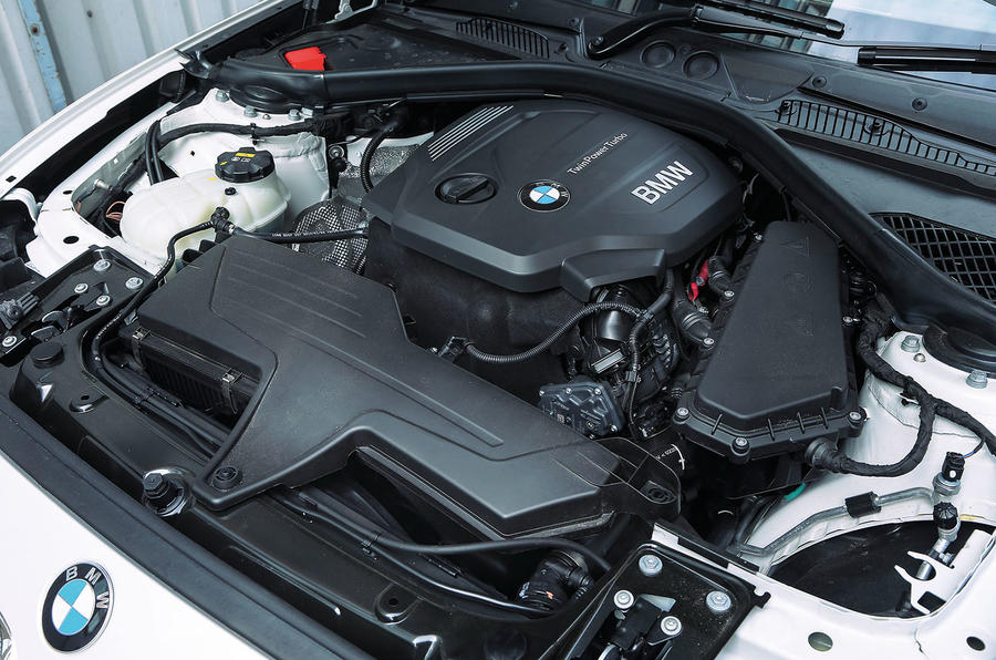 Three-cylinder BMW 1 Series engine