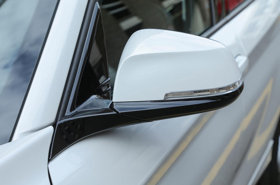 BMW 1 Series wing mirror