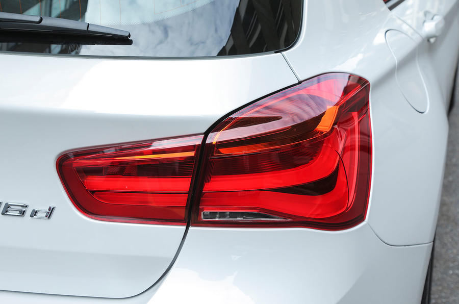 BMW 1 Series redesigned rear lights