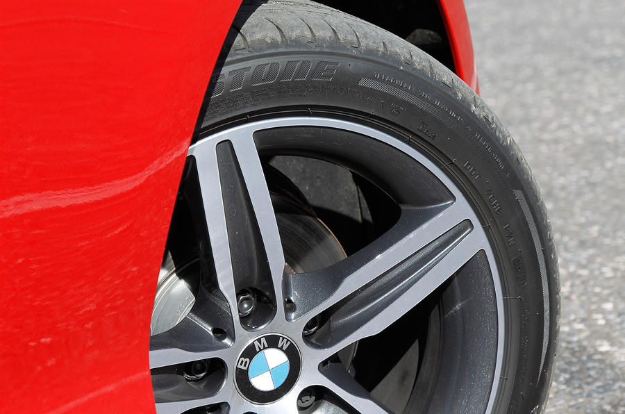 17in BMW 1 Series alloys