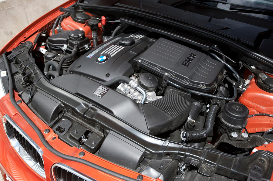 BMW 1 Series M Coupé turbocharged engine