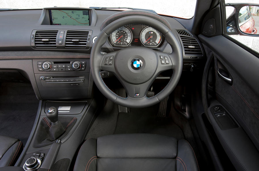 BMW 1 Series M Coupé interior
