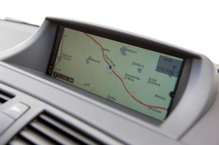 BMW 1 Series M Coupé infotainment