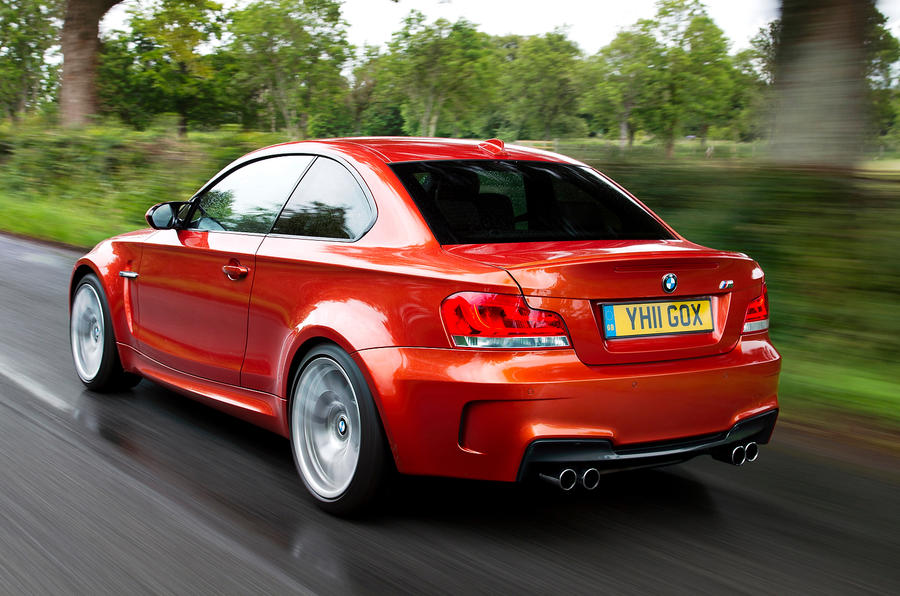 BMW 1 Series M Coupé rear quarter