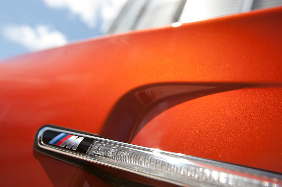 BMW 1 Series M Coupé orange paint