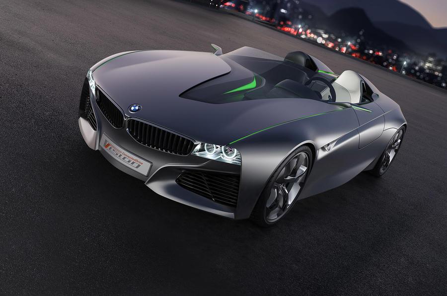 Geneva motor show: BMW roadster concept