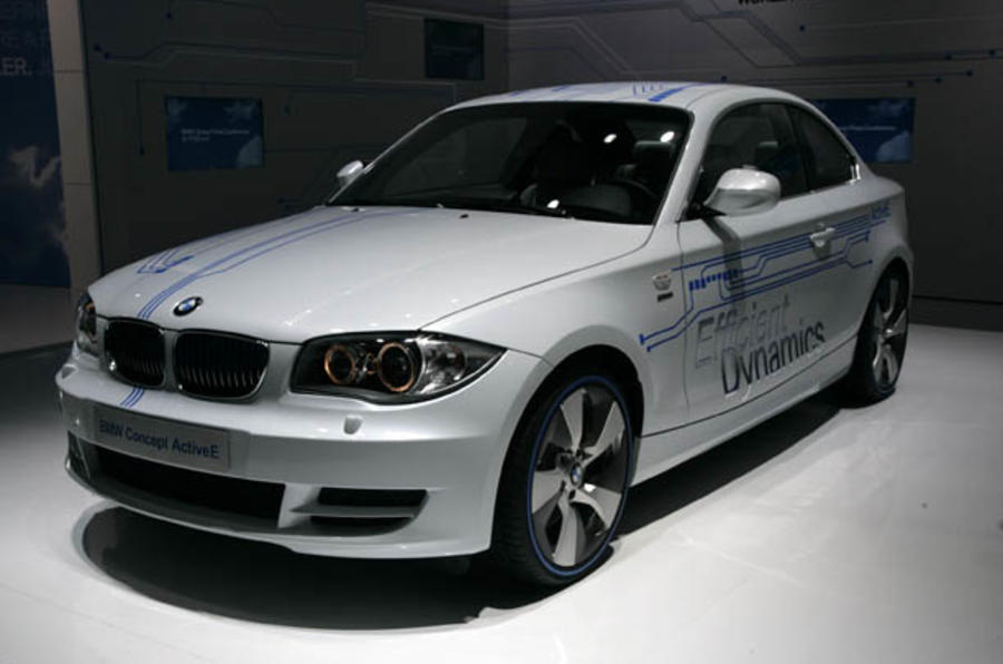Detroit show: Electric BMW 1-series