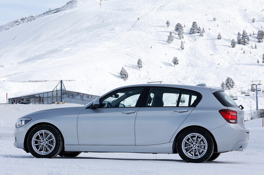 BMW 120d side profile
