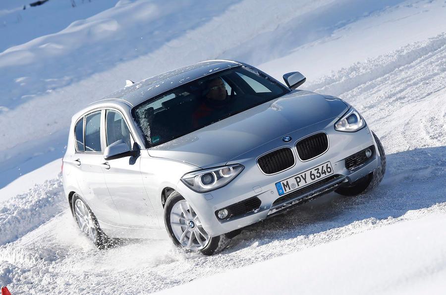 BMW 120d drifting