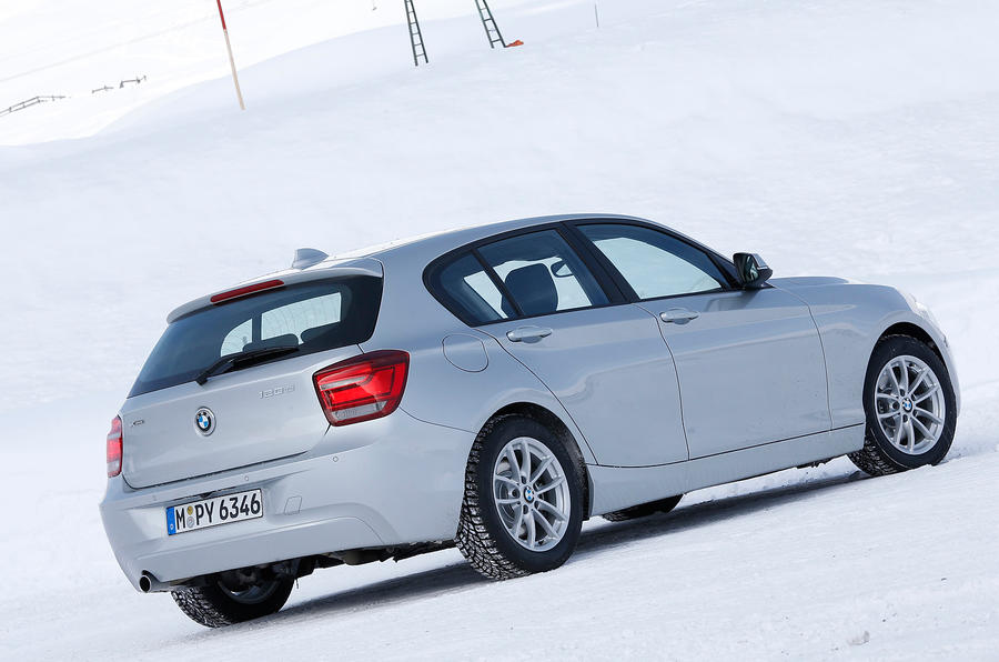BMW 120d rear quarter