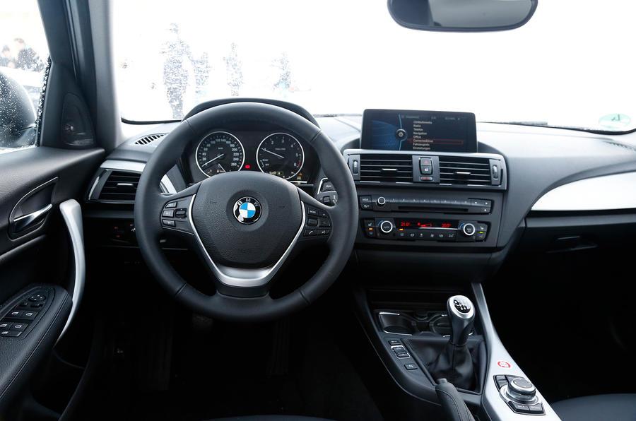 BMW 120d dashboard
