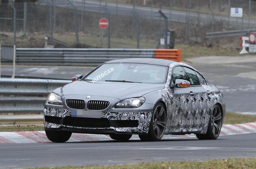 BMW M6 GranCoupe - latest pics