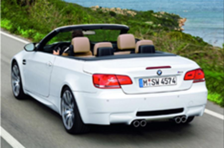 Revealed: BMW M3 Convertible