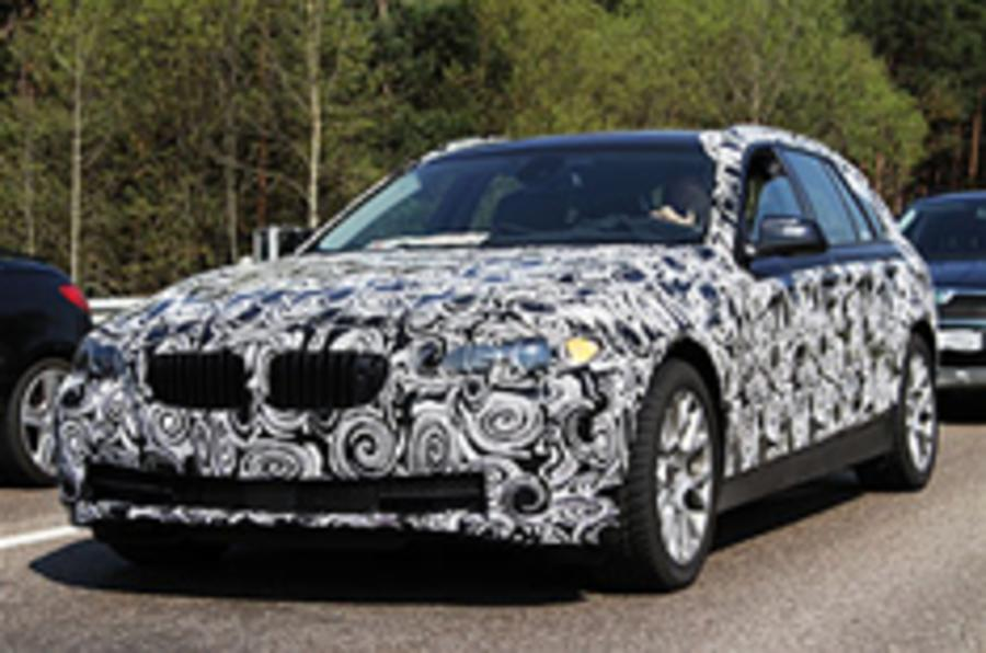 Spied: BMW 5-series Touring