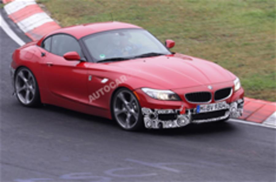 BMW Z4 M Sport package spied