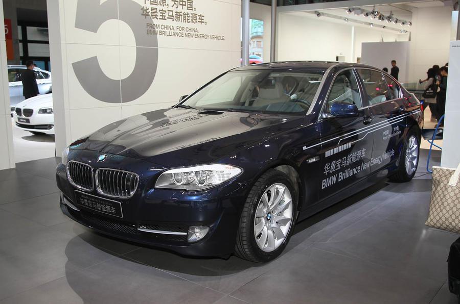Shanghai motor show: BMW 5-series hybrid