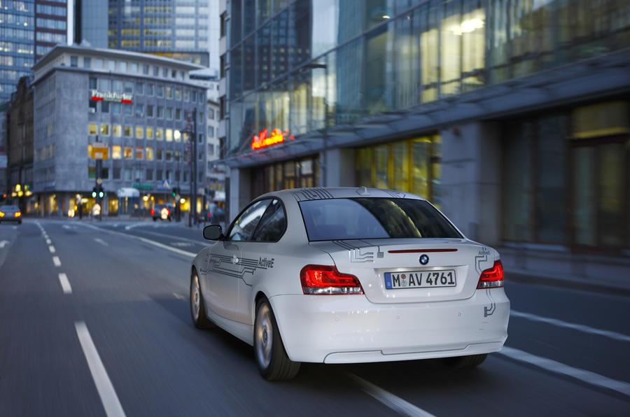 BMW unveils electric 1-series